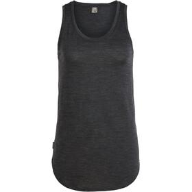 Icebreaker Solace Koszulka bez rękawów Kobiety czarny
